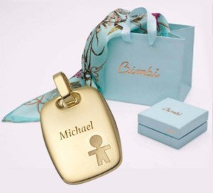 Personalize your bimbi jewel by engraving